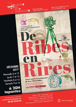 Affiche De Ribes en Rires